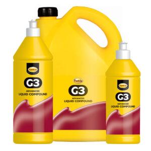 Farecla G3 Advanced Liquid Compound full range