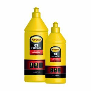 G3 Premium Abrasive Compound full range