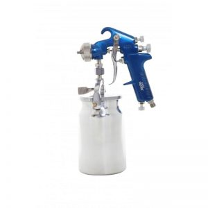 Fast Mover 1.8mm Suction Spray Paint Gun for automotive use.