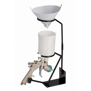 Paint Spray Gun & Paint Strainer Holder wall or table mounted (display image only)