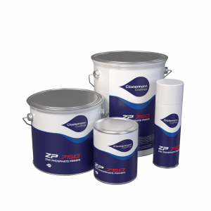 Clostermann ZP750 Zinc Phosphate Rust Inhibiting Primer Range for direct to metal