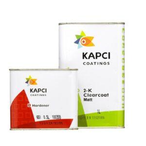 Kapci Coatings 3100 2K Matt Clearcoat Including 651 hardener