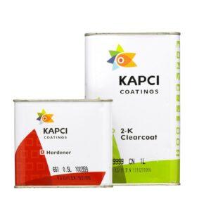 Kapci Coatings 9999 2K Clearcoat Including 651 hardener
