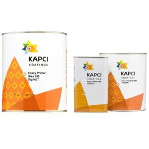 Kapci Coatings 880 Epoxy Primer 5L uncluding 881 Hardener 2.5L & 885 Thinner 1L