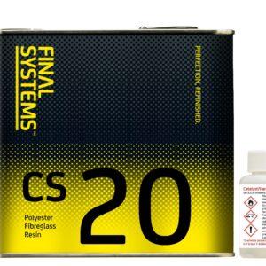 Final Systems CS20 Polyester Fibreglass Resin & Catalyst
