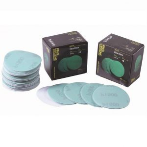 "Tornado Film Backed Hook & Loop Velcro Sanding Discs 3""/75mm"