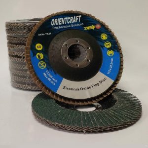 Final Systems Abrasive Flap Discs Zirconia Oxide 115mm x 22.2mm