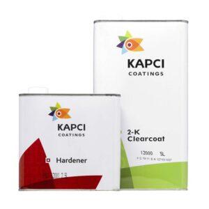 Kapci 2K 12000 Clearcoat kit and activator 7.5L