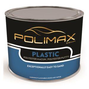 Polimax Plastic Polyester Putty Bodyfiller 1L/0.4L